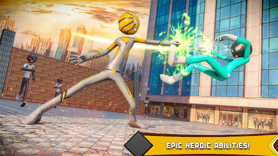 Download Spider Stickman Hero: Gangster crime City For PC Windows and Mac apk screenshot 1