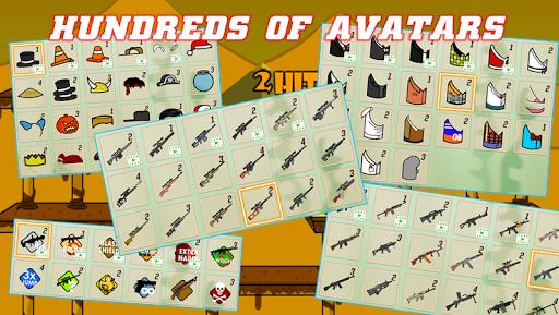 Gun Fight Online:Stick Bros Combat VS Mode apkpoly screenshots 7