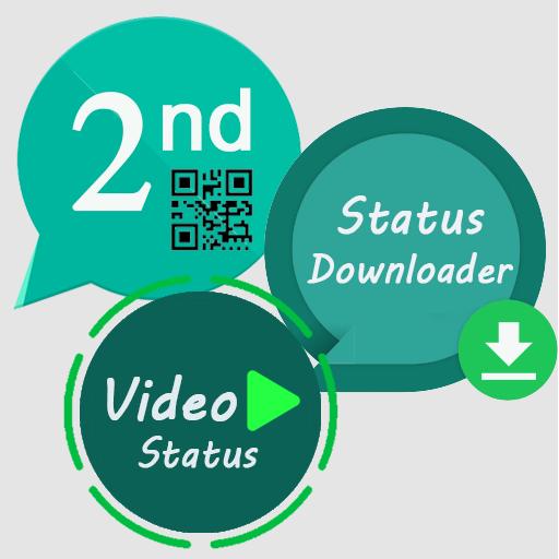 2nd Account, Status Saver for Whatsup