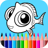 Coloring Games for Dory