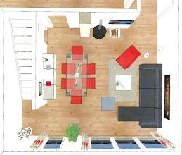 Photo: Und so wird mein Wohnzimmer aussehen ...  Die Möbel sind schon bestellt, weitere Infos unter www.freie-ferienwohnungen-ostsee.beepworld.de .