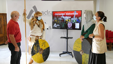 Acto de presentación de las Jornadas Históricas Vikingas.