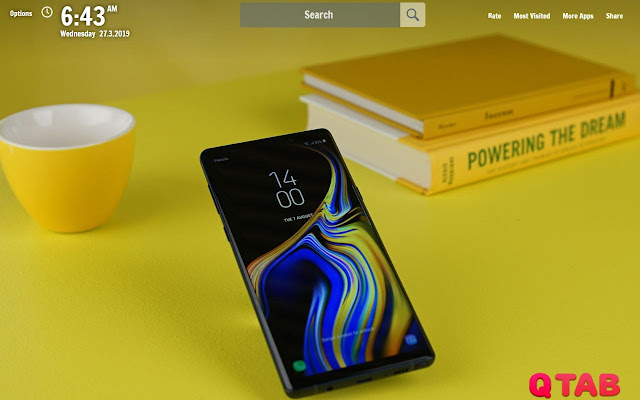 Note 9 New Tab Note 9 Wallpapers