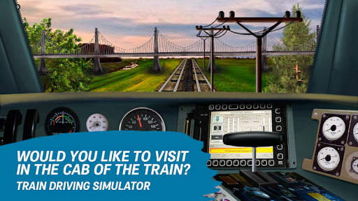 Train driving simulator  screenshots 6