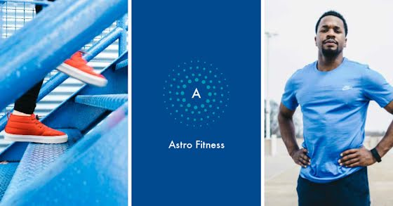 Astro Fitness - Facebook Event Cover Template
