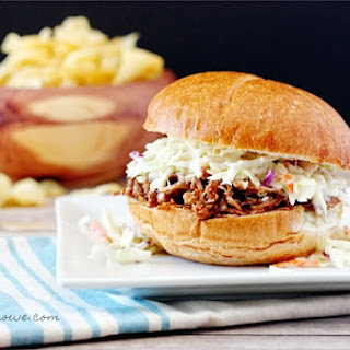 BBQ Carnitas Pork Sandwich