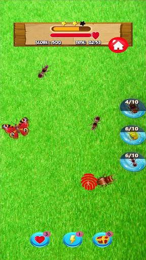 ant smasher games  – bug smasher games for kids. screenshot 3