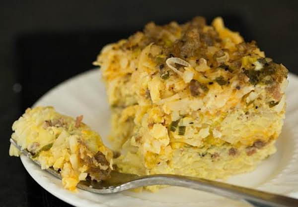 Photo From: Http://www.browneyedbaker.com/slow-cooker-sausage-hash-brown-cheddar-breakfast-casserole/