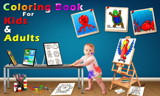 Coloring Book & Drawing book -  Coloring Games 1.0.2 screenshots 1