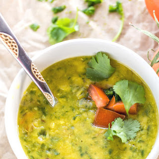 Spinach Dal.