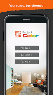 Project Color - The Home Depot- screenshot thumbnail