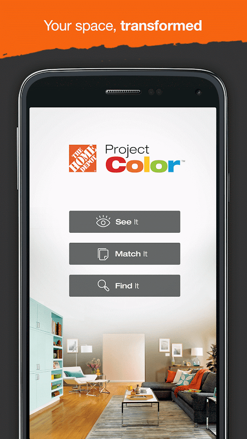 Project Color - The Home Depot- screenshot