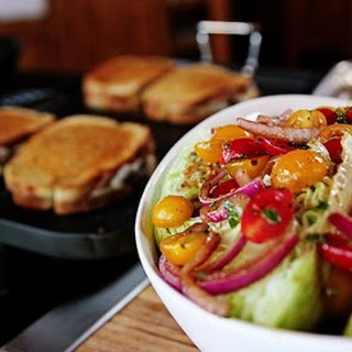 Quick-Marinated Cherry Tomato Salad Recipe