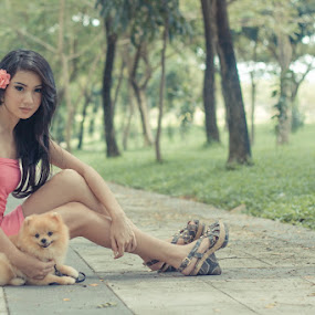 My Best Friend by Nico Ariyanto - Novices Only Portraits & People ( model, people )