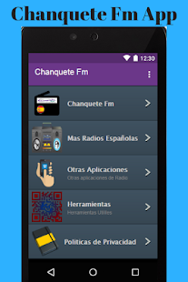 Radio Chanquete Fm App - náhled