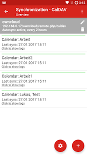 iCal Import/Export CalDAV- screenshot thumbnail