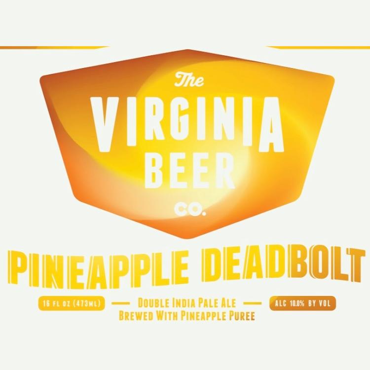 Logo of Virginia Beer Co. Pineapple Deadbolt