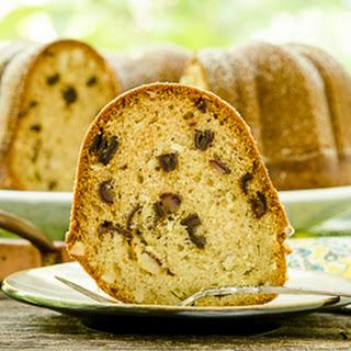 Almond Date Bundt Cake.