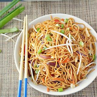 Spicy Veg Noodles.
