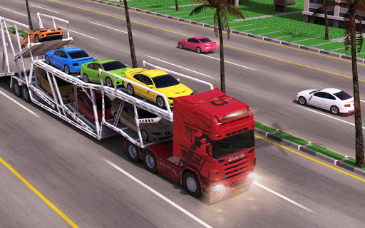 Heavy Truck Loader - Car Cargo Transport image | 4