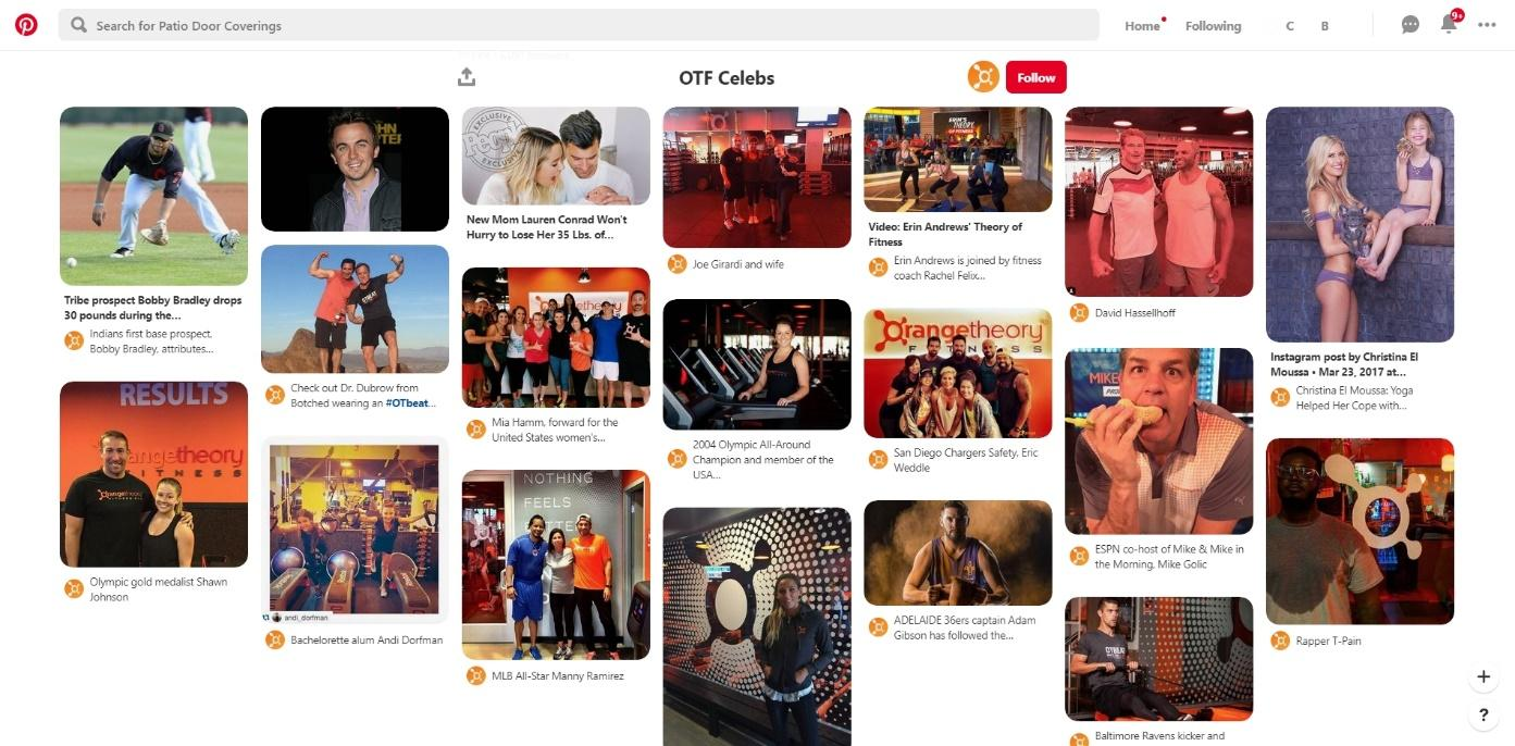 OrangeTheory influencer marketing campaign