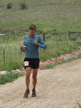 Photo: Local runner Mike Hinterberg at mile 40 on his way to a top 10 finish.