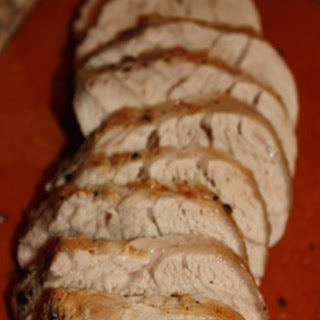 Pork Tenderloin in an Apple Maple Brine