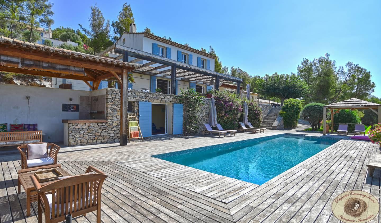 Propriété avec piscine et jardin Ollioules