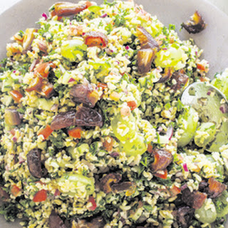 Tabouleh With Dates And Grapes