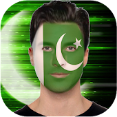 Pakistani Face Flag