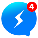 Messenger Pro for Messages, Video Chat for free icon