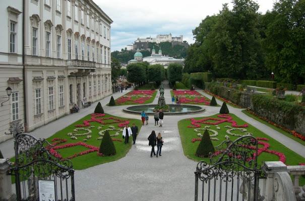 Giardini Mirabell di lady oscar