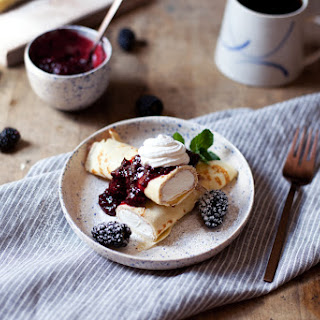 Blackberry Crepes Recipes