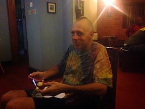 Photo: Mark, our lovely mentor in Uganda
