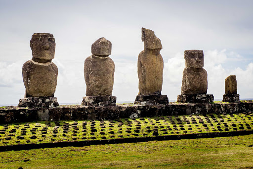 See the moai of Easter Island on a Ponant Cruise.