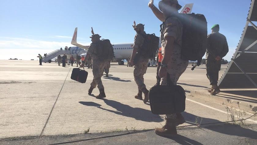 La Legión regresa de Irak y Mali a partir del sábado en cinco vuelos