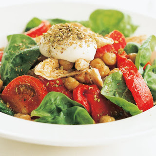 Moroccan Chickpea & Chicken Salad