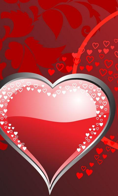 HD Romantic Hearts Wallpaper - Android Apps on Google Play