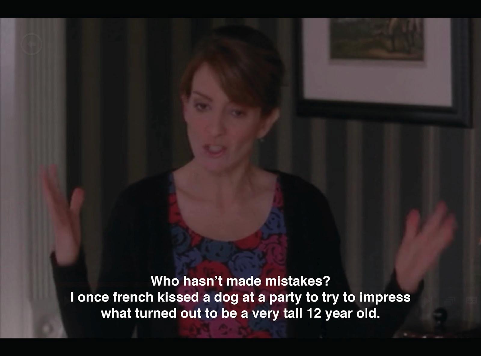 Liz Lemon's mistake