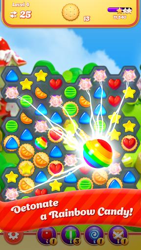 Code Triche Sugar Witch: Hexa Blast APK MOD screenshots 2
