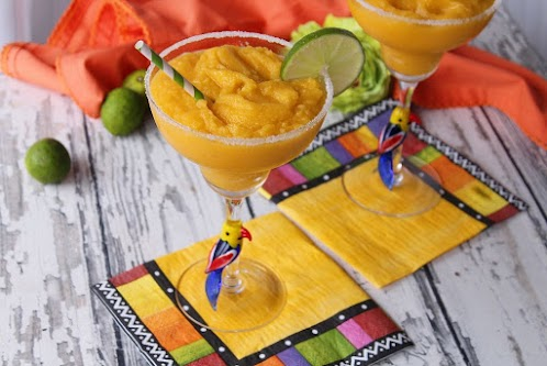 Mango Key Lime Margaritas