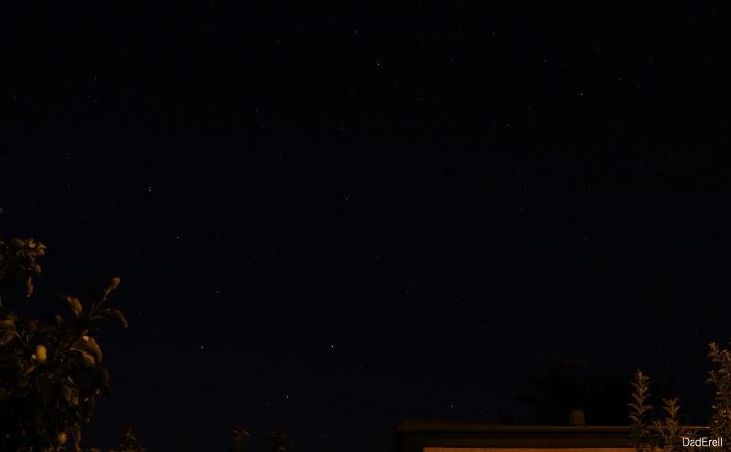 Grande Ourse et étoile polaire