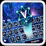 Shining Galaxy Keyboard Theme Icon