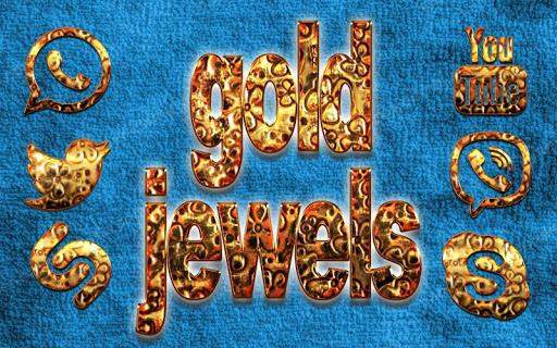 Velvet Gold Jewels Solo Theme