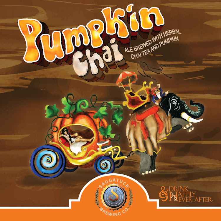 Logo of Saugatuck Pumpkin Chai