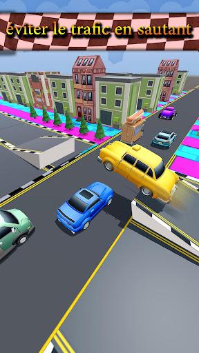 Code Triche trafic Taxi courir 2019: 3d échapper coureur APK MOD (Astuce) screenshots 4