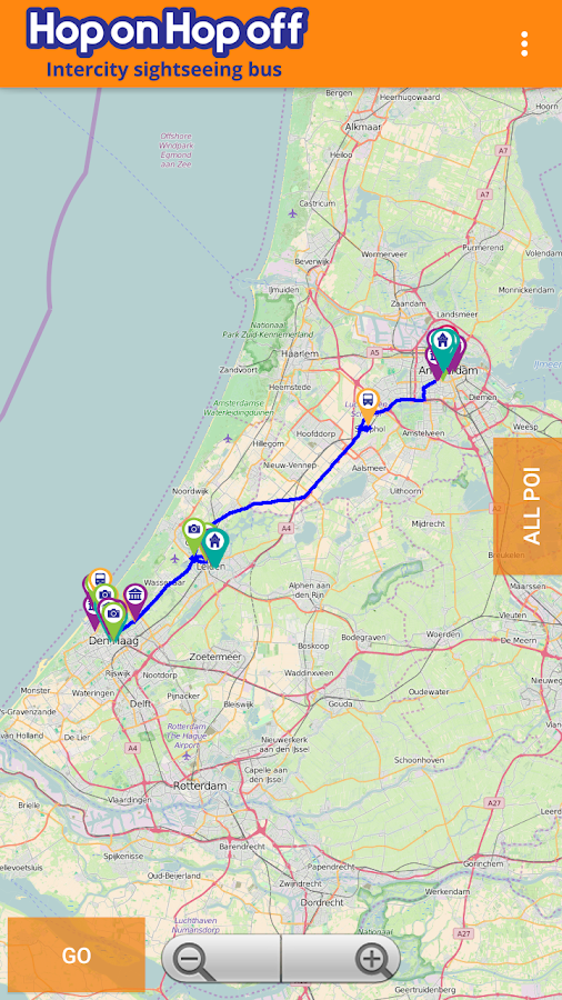Intercity HoponHopoff Holland- screenshot