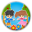 Paper puppets icon