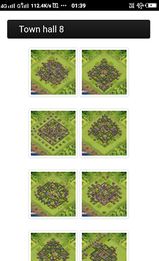 layout for clash of clans  screenshots 2
