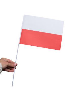 Pappersflagga, Polen